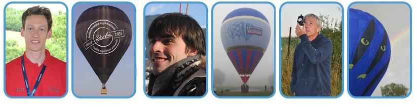 Campeões do campeonato belga de balonismo