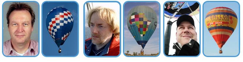 Campeões do holandês de balonismo