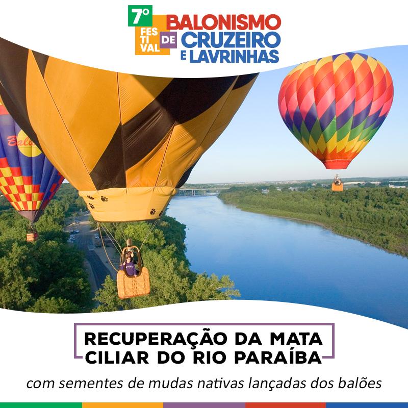 Cruzeiro e Lavrinhas, em SP, recebem Festival de Balonismo