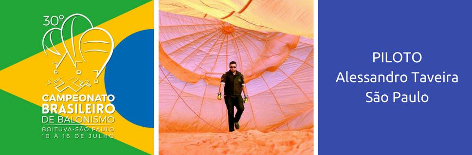 Vinte e quatro pilotos vão participar do brasileiro de balonismo